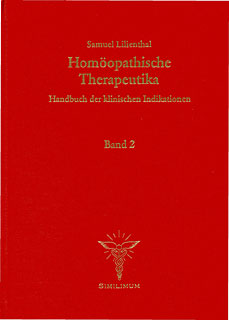 Homöopathische Therapeutika - Band 2: Verdauungsorgane/Samuel Lilienthal