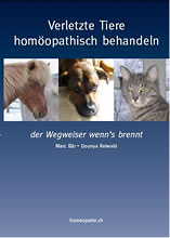 Verletzte Tiere homöopathisch behandeln, Marc Bär / Dounya Reiwald