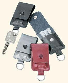 Porte-clé avec 3 mini-fioles/