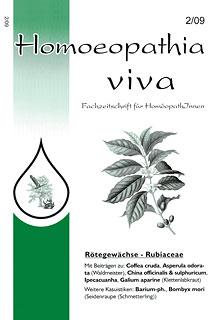 Homoeopathia viva 09-2/Zeitschrift
