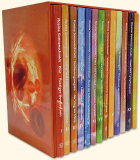 Set der Schriftenreihe Organ - Konflikt - Heilung in 12 Bänden plus Register, Rosina Sonnenschmidt