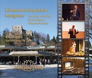 Kinderhomöopathie-Kongress 2009 - 6 DVD's - Sonderangebot/Herbert Pfeiffer / Farokh J. Master / Roberto Petrucci