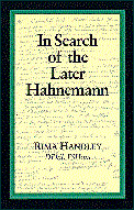 In Search of the Later Hahnemann - Imperfect copy/Rima Handley