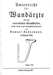 Unterricht für Wundärzte, Samuel Hahnemann