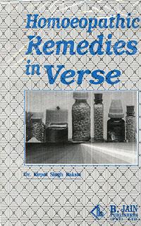 Homoeopathic Remedies in Verse/K.S. Bakshi