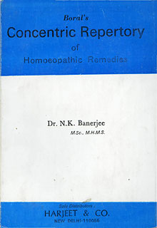 Boral's Concentric Repertory of Homoeopathic Remedies/N. K. Banerjee