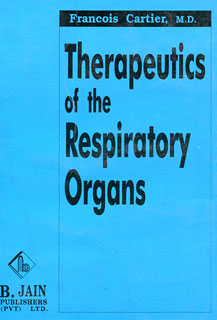Therapeutics of the Respiratory Organs/Francois Cartier
