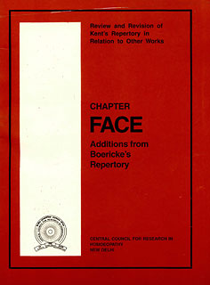 Addition from Boericke's Repertory to Kent's Repertory- Chapter Face/CCRH