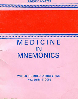 Medicine in Mnemonics, Farokh J. Master
