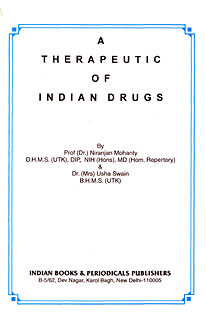 A Therapeutic of Indian Drugs, Niranjan Mohanty