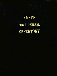 Kent's Final General Repertory of the Homoeopathic Materia Medica (Large Size)/Pierre Schmidt