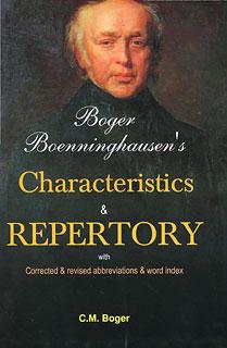 Boger - Boenninghausen's Characteristics & Repertory/Cyrus Maxwell Boger