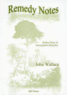 Remedy notes part 1/John Wallace