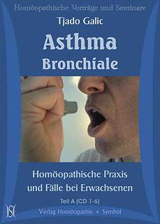 Asthma Bronchiale. Homöopathische Praxis und Fälle bei Erwachsenen - 12 CD's/Tjado Galic
