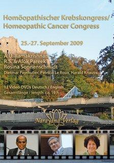 Krebskongress DVD 2009 - 12 DVD's - Sonderangebot/A.U. Ramakrishnan / Alok Pareek / Rosina Sonnenschmidt / Harald Knauss / Dietmar Payrhuber / Patricia Le Roux