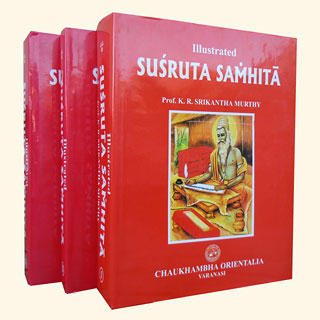 Susruta Samhita (Illustrated), K.R. Srikantha Murthy