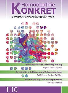 Homöopathie Konkret 2010/1/Kirstin Hill
