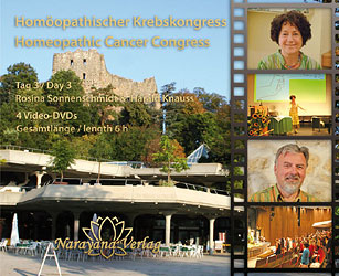 Miasmatische Krebstherapie: Krebskongress 2009 DVD Tag 3 - Sonderangebot/Rosina Sonnenschmidt / Harald Knauss