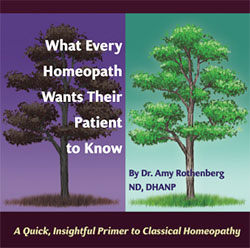 What Every Homeopath Wants Their Patient to Know/Amy Rothenberg