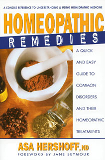 Homeopathic Remedies/Asa Hershoff