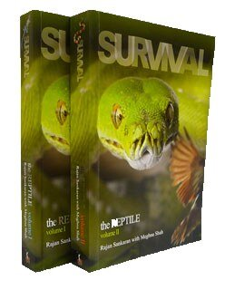 Survival the Reptile - Volume 1 and 2, Rajan Sankaran