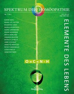 Spektrum der Homöopathie 2011-1, Die Elemente des Lebens - Restposten/Narayana Verlag