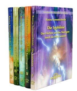 """Set der Schriftenreihe """"Miasmatische Heilkunst"""" in 5 Bänden, Rosina Sonnenschmidt"""