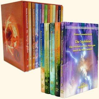 Komplettset der Schriftenreihen Organ-Konflikt-Heilung UND Miasmatische Heilkunst in 17 Bänden/Rosina Sonnenschmidt