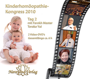 Kinderhomöopathie-Kongress 2. Tag auf DVD mit Farokh Master und Torako Yui (2010), Farokh J. Master