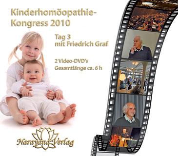 Kinderhomöopathie-Kongress 3. Tag auf DVD mit Friedrich Graf - Sonderangebot/Friedrich P. Graf