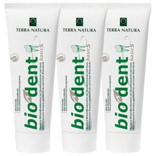 Dentifrice alcalin BIODENT - 75 ml - 3 tubes/