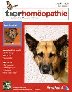 Tierhomöopathie 2011-1/Zeitschrift