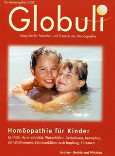 Globuli Sonderheft 2005 - Homöopathie für Kinder/Zeitschrift