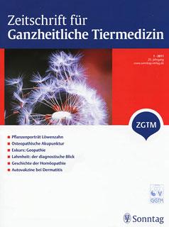 Zeitschrift für Ganzheitliche Tiermedizin - 2011/1/Zeitschrift