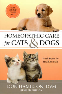 Homeopathic Care for Cats and Dogs, Don Hamilton