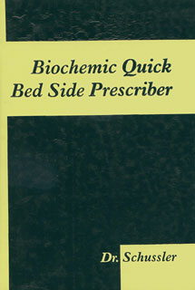 Biochemic Quick bed side prescriber, Schussler