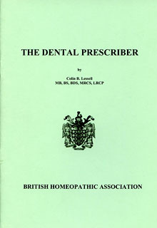 The dental prescriber/Colin B. Lessell