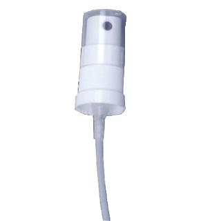 Zerstäuberpumpe, weiss, mit transp. Schutzkappe