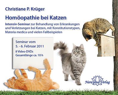 Homöopathie bei Katzen - Katzenseminar - 8 DVDs/Christiane P. Krüger