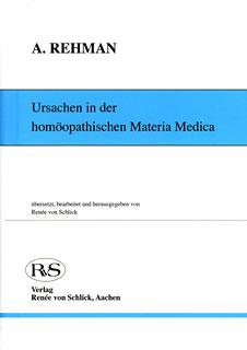 Ursachen in der homöopathischen Materia Medica/Abdur Rehman