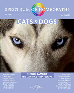 Spectrum of Homeopathy 2012-I, Cats and Dogs/Narayana Verlag