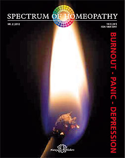 Spectrum of Homeopathy 2012-2, Burnout - Panic - Depression/Narayana Verlag