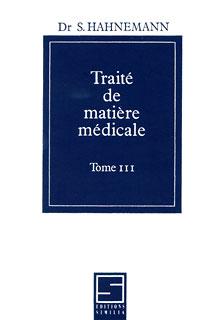Traité de matière médicale, tome 3 - copie imparfaite, Samuel Hahnemann