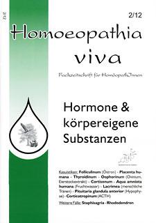 Homoeopathia viva 12-2 Hormone & körpereigene Substanzen/Zeitschrift