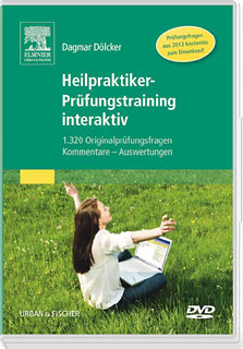 Heilpraktiker-Prüfungstraining interaktiv DVD, Dagmar Dölcker