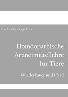 Arzneimittellehre für Tiere (Wiederkäuer und Pferd)/Birgit Gnadl / Angela Lamminger-Reith
