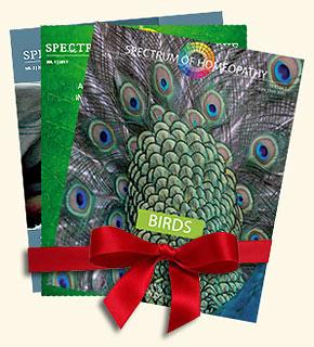 Set - Spectrum of Homeopathy - Set 2011/Narayana Verlag