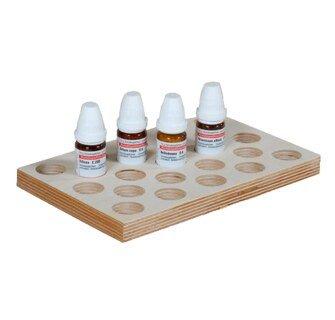 Sortierplatte für 10 g Gläschen  für 23 Gläschen/