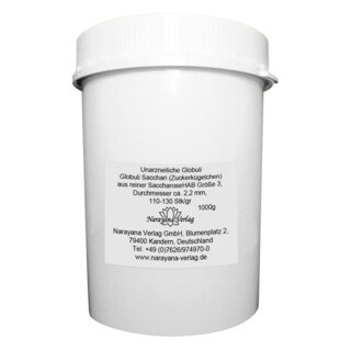 Granules neutres taille n° 3 ; Ø 2,2 mm - 1 kg/Narayana Verlag