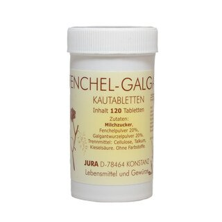 Fenchel-Galgant Kautabletten - 120 Tabletten/